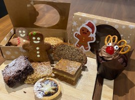 Sweet treats being sold for charity - Image Credits: Sophie Houghton
