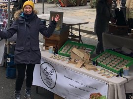Handmade natural skincare at The Makers Market. Photo Credit: The Makers Market
