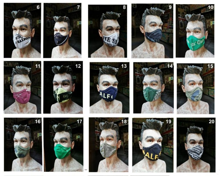 Smiths masks Salford Lads Club