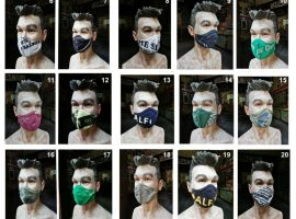 This Charming Mask: Salford Lads Clubs raises funds with Smiths-themed masks