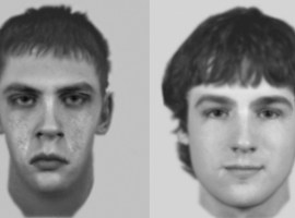 An e-fit of two alleged attackers that the police would like to speak with. Image credits: GMP