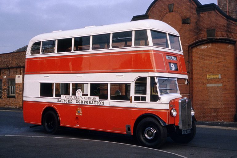 Salford transport history