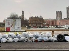 Salford City on Point collect litter around Salford and have the council dispose of it - image credits go to Zak Damelio