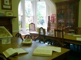 The reading room at the Working Class Movement Library. Credit: WCML Twitter.