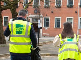 New Bailey announce community litter pick with Salford Litter Picking Heroes
