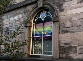 Sacred Trinity Church's LGBT+ Open table events. Photo credit: taken myself