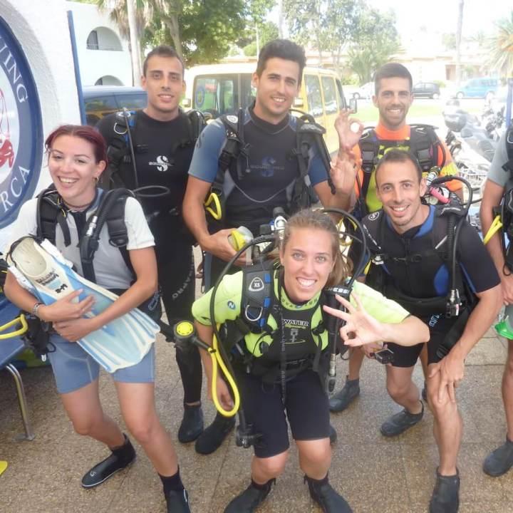 PADI Discover Scuba Diving DSD, Menorca
