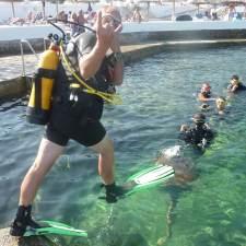 PADI Discover Scuba DIving   S'Algar Diving, Menorca