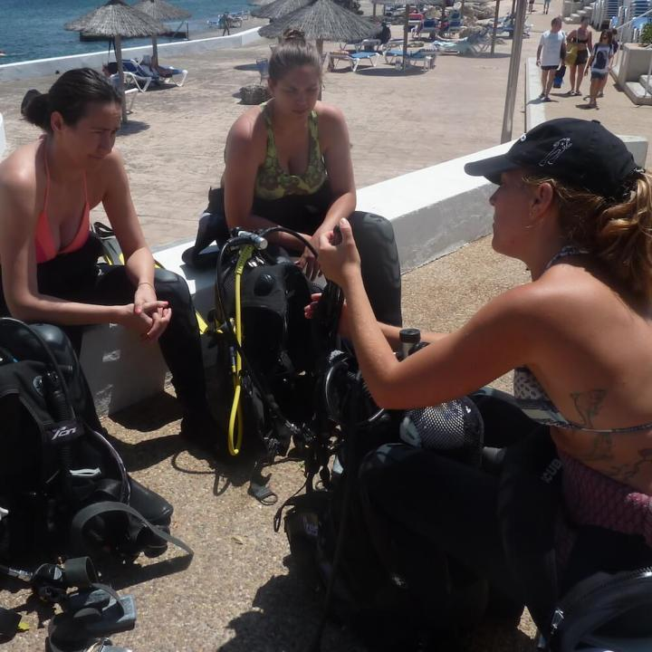 PADI eLearning Open Water Diver Course, Menorca