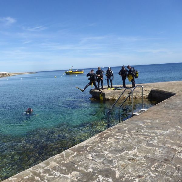 PADI Open Water Diver Course, Menorca