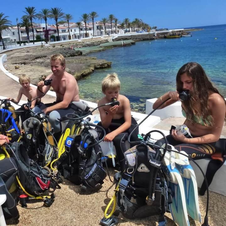 PADI Open Water Diver Course, Menorca