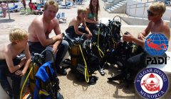 Wide range of PADI Diving Courses in Menorca by S'Algar Diving.