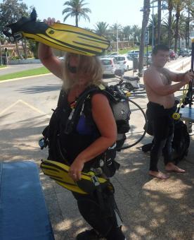Team   S'Algar Diving, Menorca