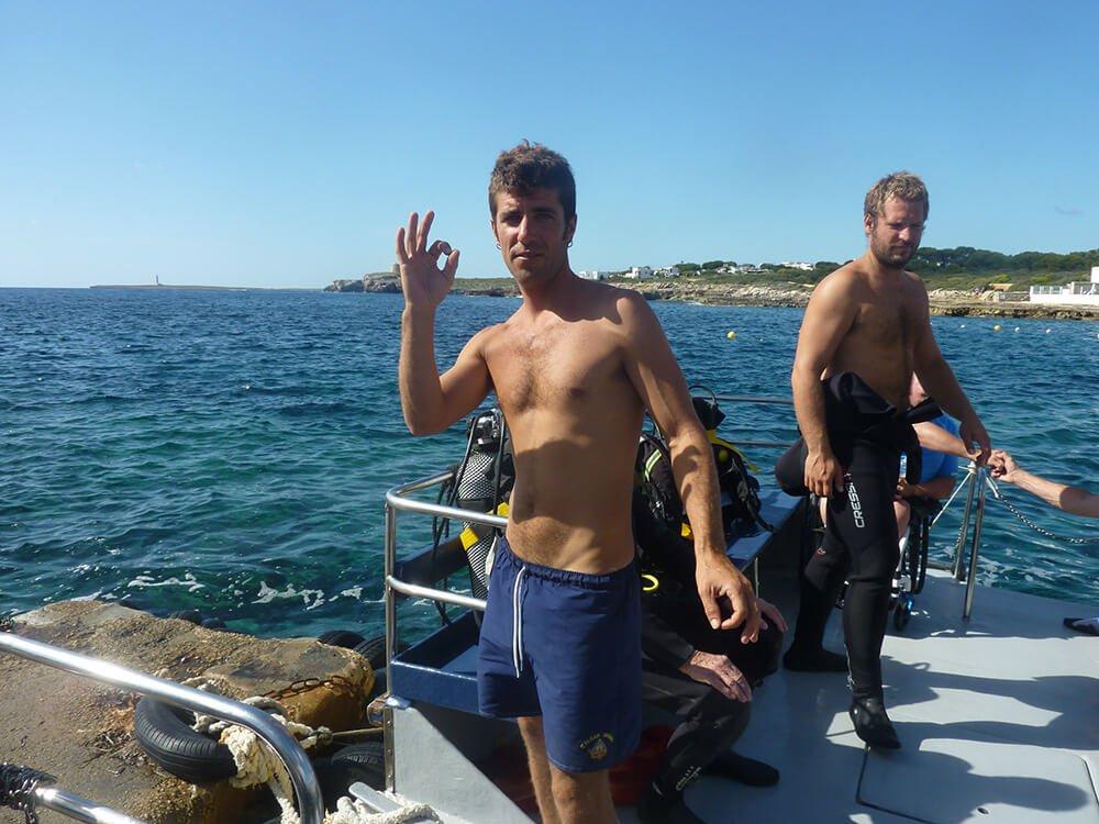 Team | S'Algar Diving, Menorca