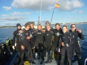 Team | S'Algar Diving, Menorca