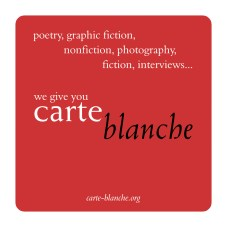 Promotional coasters for Carte Blanche magazine