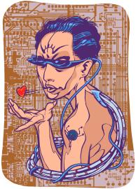 illustration - Internet dating