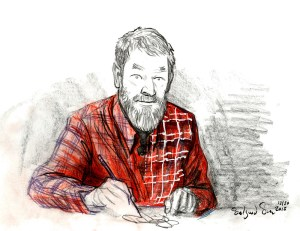 Self portrait speed sketch Dec 2018