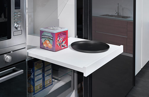 drawers pull out shelf salice