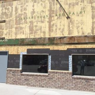 Now this is the way to fix up an old building on main street in Salina. Way to go Paul & Paula Martin. We can't wait to see what it will be. Care to share any hints with us? - Photo by Kirk Rasmussen