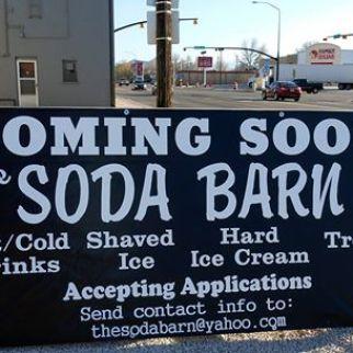 Soda Barn coming soon Main and State in Salina Utah - Photo by Kirk Rasmussen