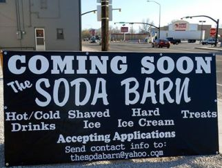 Soda Barn coming soon Main and State in Salina Utah - Photo by Kirk Rasmussen