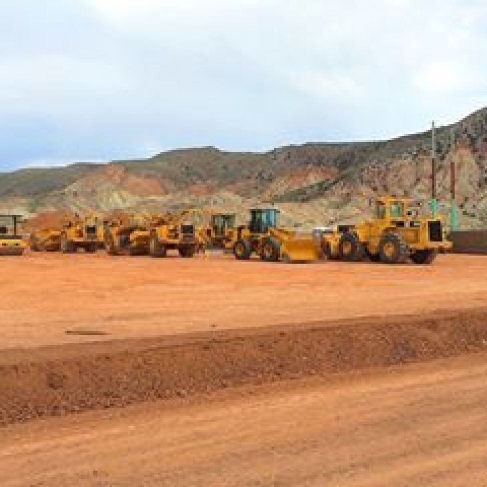 Rasmussen Excavating acquired the contract for the ground work for the new Love's Truck Stop in Salina, Utah. Once again, lot's of new things happening here in our wonderful community. - Photo by Kirk Rasmussen