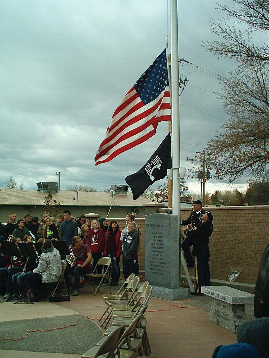 Veteran's Memorial Dedication