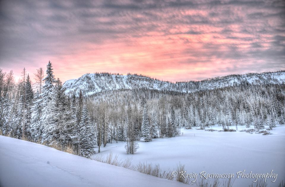 Salina, Utah a Winter Wonderland