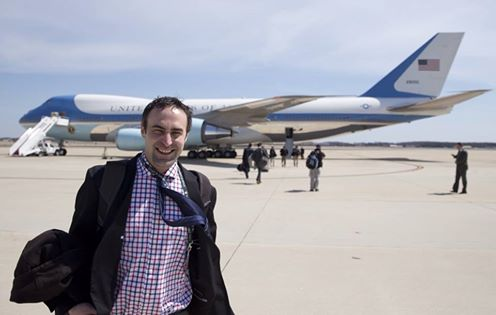 Tommy Burr and Air Force One