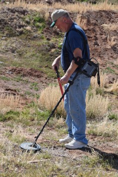 Metal Detecting at Salina CCC/POW Camp