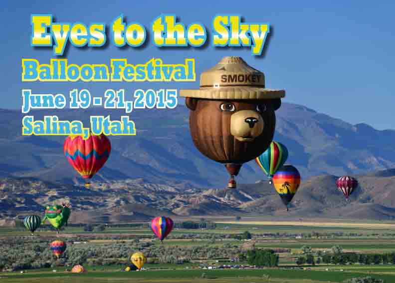 Salina City Welcomes You to The Eyes to the Sky Balloon Festival  2015