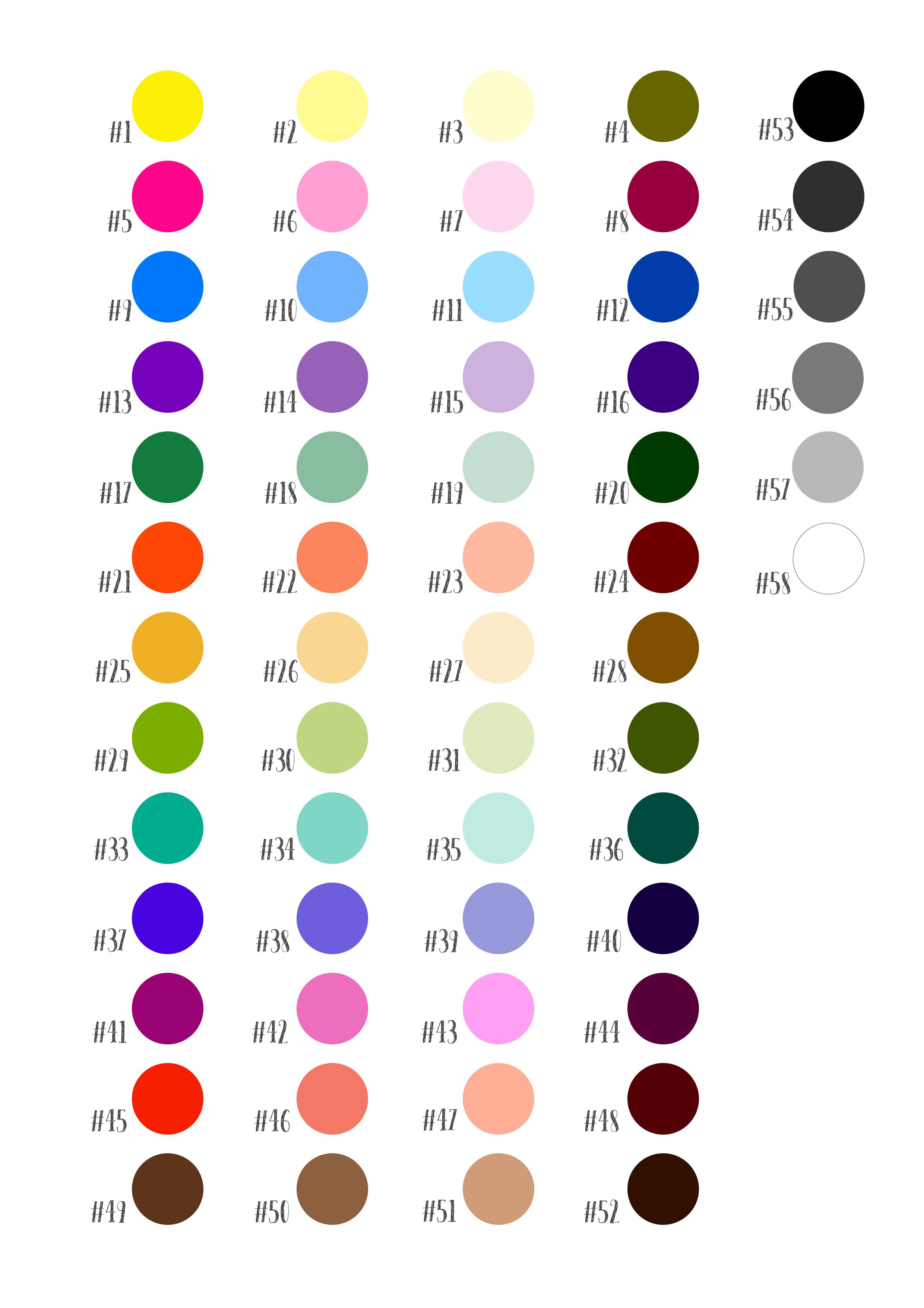 Cmo hacer colores para pintar un cuadro paso a paso