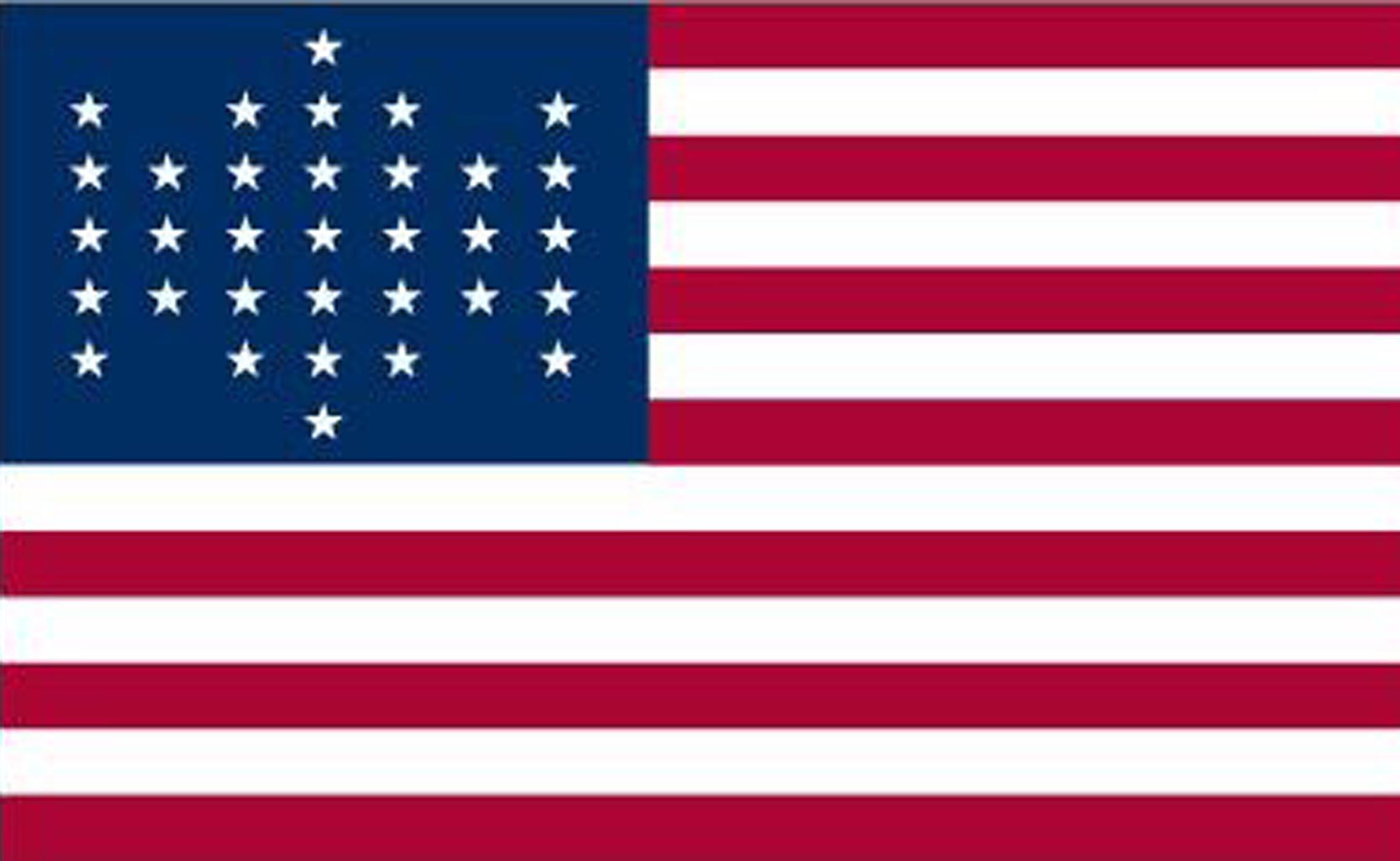 Rhode Island Civil War Flags