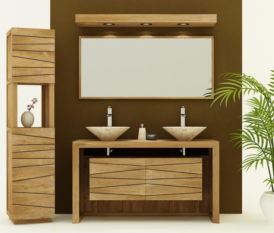140 cm pour double vasqueavec duo de lavabo