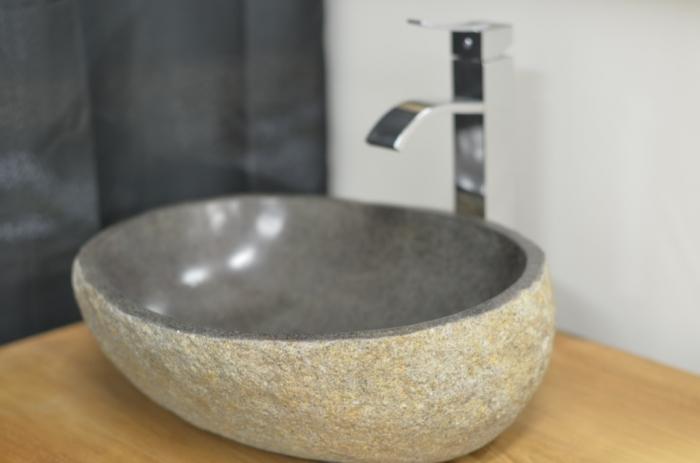 Achat Vasque Galet Vasque En Pierre Naturelle Pour Une Salle De Bain Originale