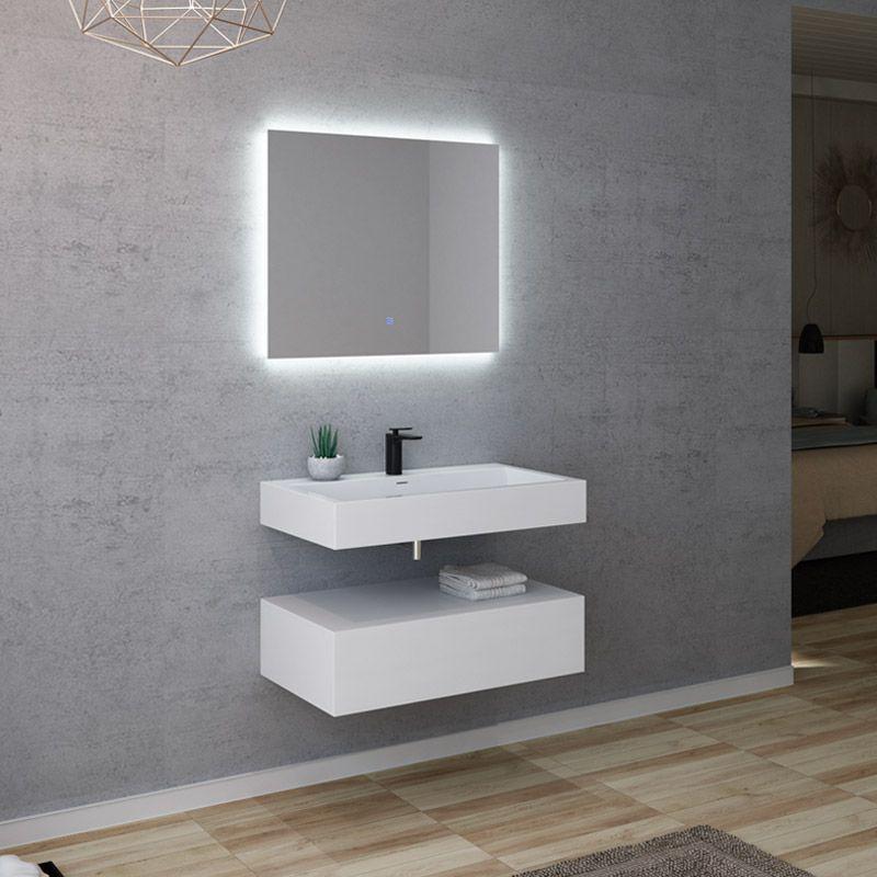 meuble salle de bain avellino 800