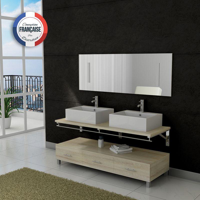 meubles double vasques meuble salle de bain dissc scandinave l