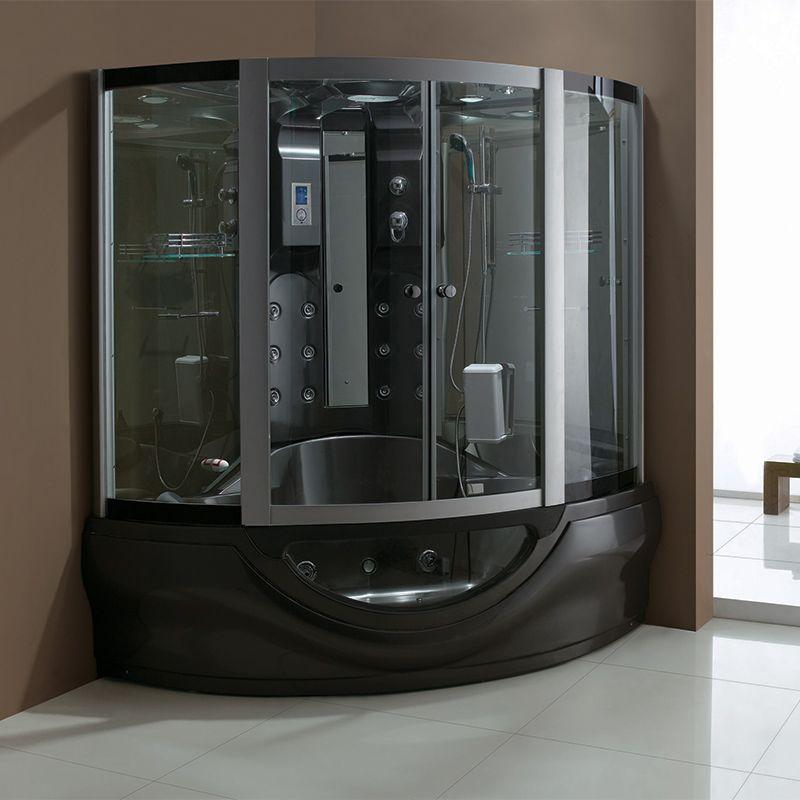 cabine de douche baignoire hammam black tahiti cabine baignoire hammam noire salledebain online