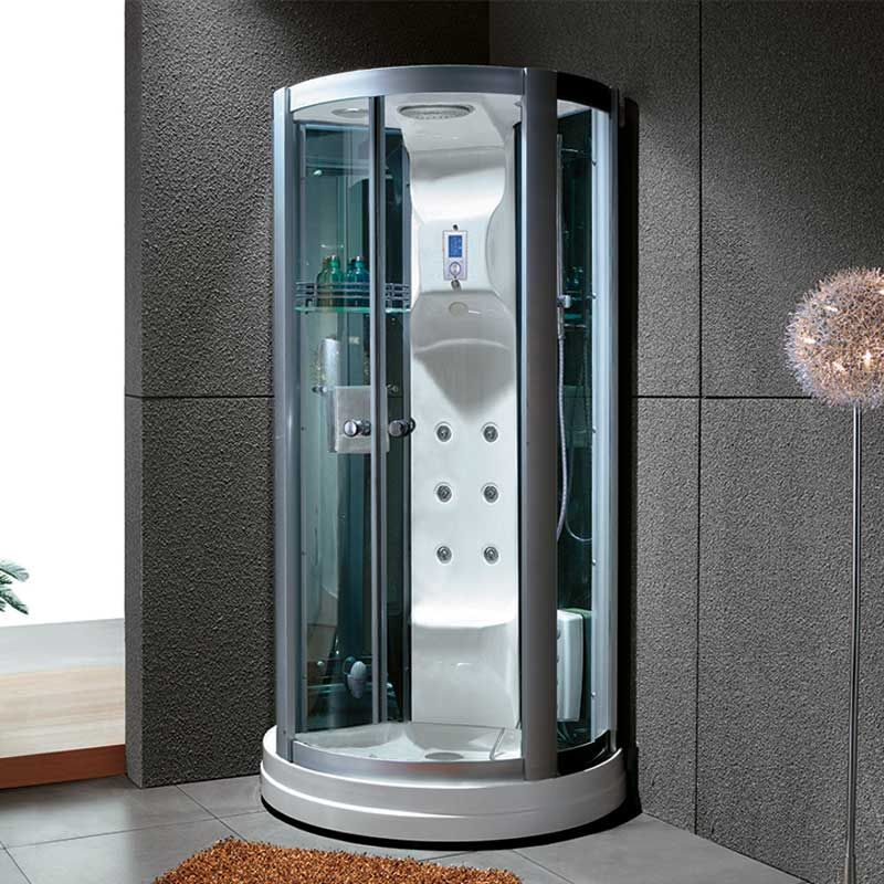 Petite cabine de douche ronde CALYPSO petite cabine de douche ronde hammam  Salledebain Online