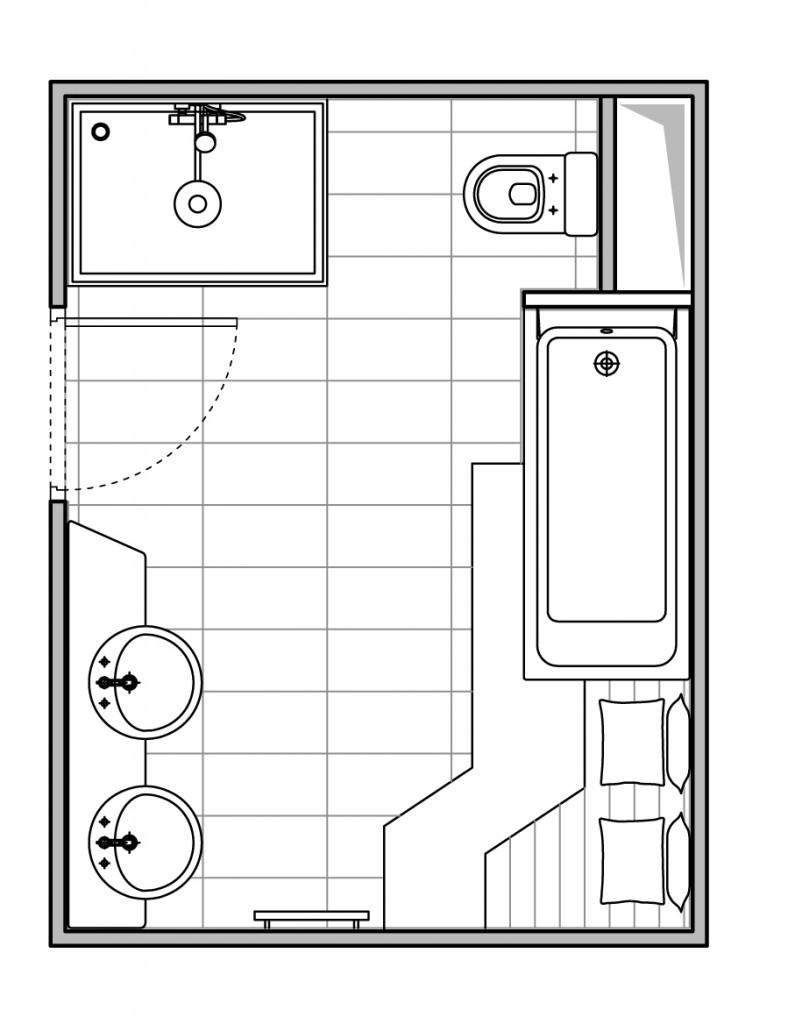 plan salle de bain bright shadow online