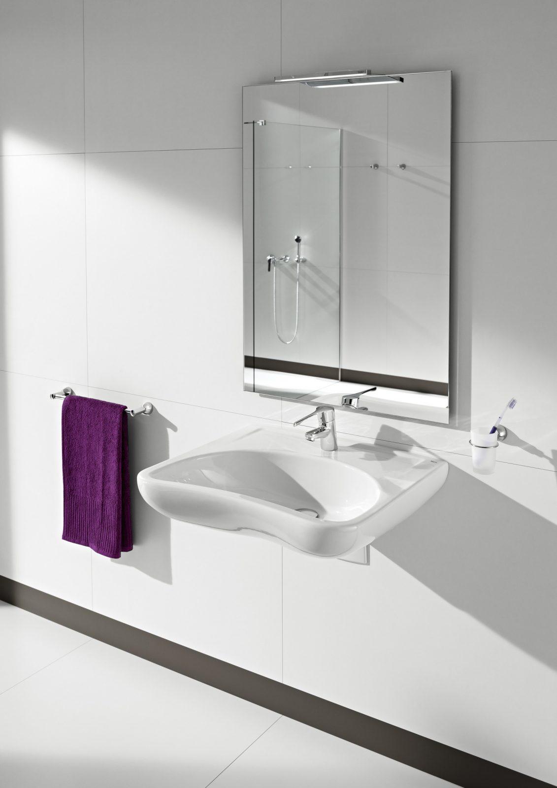 Lavabo accessible de salle de bain  fiche produit  salledebainsfr