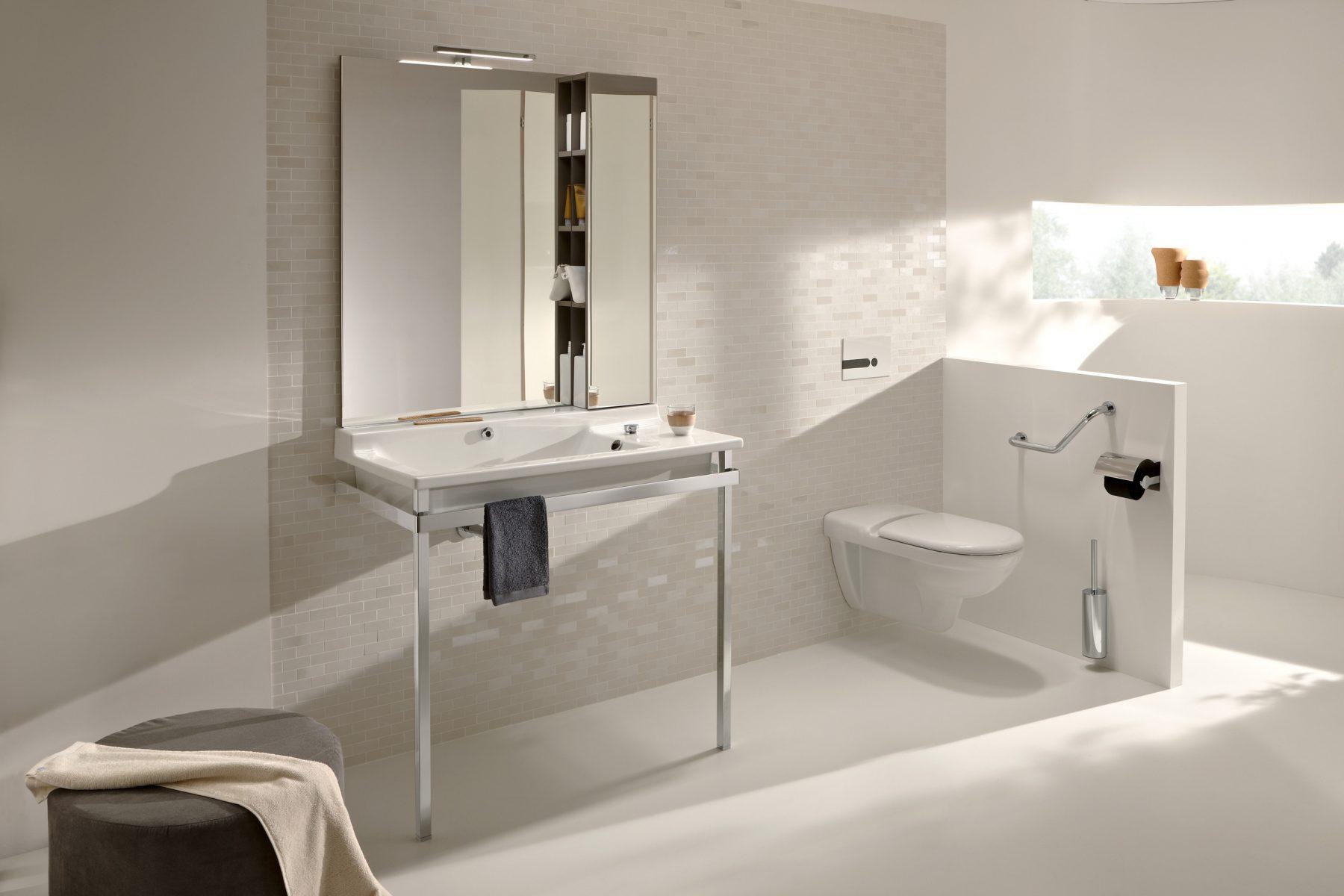 Beautiful Plan De Toilette Accessible Pour Salle De Bains