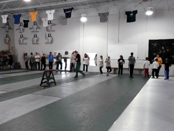 fencing at Salle dEtroit