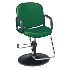 Styling Chairs For Sale Hay About A Chair Replica Salon Dryer Stools Sally Beauty Pibbs Chameleon Hunter Green