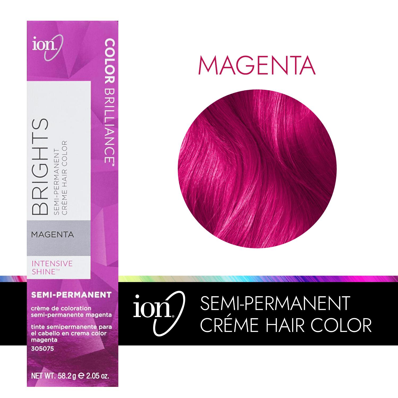 Magenta Color Brilliance Brights Semi Permanent Hair