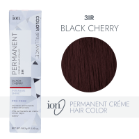 Ion Black Cherry Permanent Creme Hair Color by Color ...