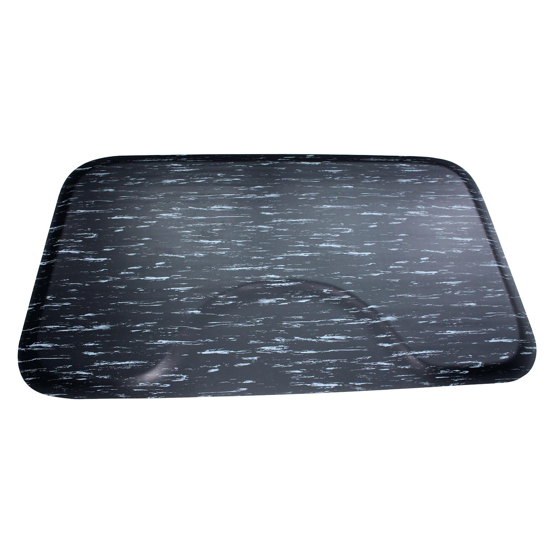 salon chair mat baby musical mate 3 x 5 black marbleized