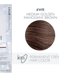 Ion wr medium gold mahogany brown permanent creme hair color by brilliance sally beauty also rh sallybeauty