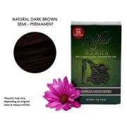 natural dark brown - henna semi-permanent